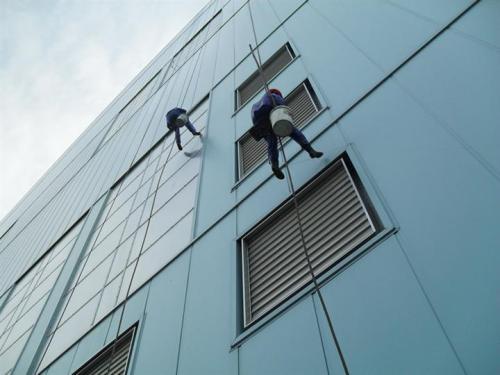 广东的大厦外墙保洁的
