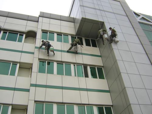 广东大楼清洗外墙的收费
